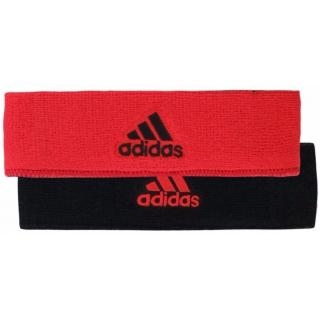 Adidas Interval Reversible Tennis Headband (Red/Black)