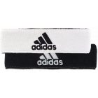 Adidas Interval Reversible Tennis Headband (White/Black) - Adidas Apparel