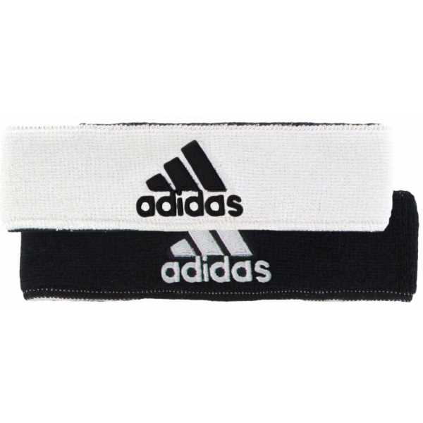 Adidas Interval Reversible Tennis Headband (White/Black)
