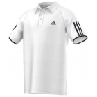 Adidas Boys' Club Polo (White/ Black) - Adidas Apparel