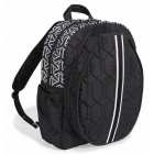 cinda b Jet Set Black Tennis Backpack - Designer Tennis Backpacks