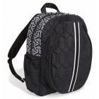 cinda b Jet Set Black Tennis Backpack -