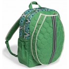 cinda b Verde Bonita Tennis Backpack - Designer Tennis Backpacks