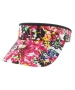 Adidas Women's Match Visor (Floral/ Black) - Adidas Tennis Apparel
