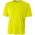 A4 Men's Performance Crew Shirt (Safety Yellow) - Men's Tops