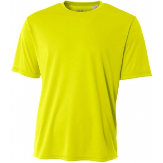 A4 Men's Performance Crew Shirt (Safety Yellow)