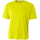 A4 Men's Performance Crew Shirt (Safety Yellow) - A4