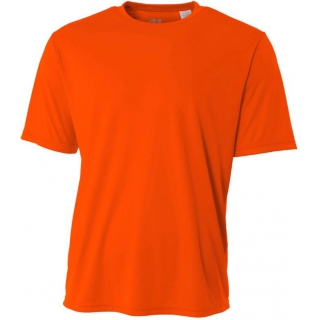 A4 Men's Performance Crew Shirt (Safety Orange)