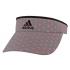 Adidas Women's Match Visor (Pink Polka Dot) - Tennis Apparel Brands