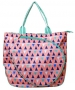 All For Color Sand Castles Tennis Tote - All For Color