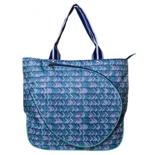 All For Color Vacay This Way Tennis Tote