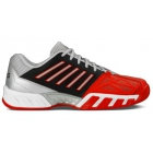 K-Swiss Men's Bigshot Light 3 Tennis Shoes (Red/Black/Silver) - Lightweight Tennis Shoes