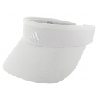 Adidas Women's Match Visor (White) - Adidas Caps & Visors Tennis Apparel
