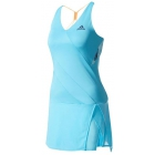 Adidas Women's Melbourne Dress (Samba Blue/Mystery Blue) - Adidas Women's Tennis Dresses, Jackets & Pants