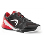 Head Men's Revolt Pro 2.0 Tennis Shoes (Raven/Red) - Tennis Shoe Brands