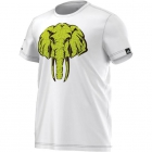 Adidas Hannibal Graphic Tee (White) - Adidas Men's Apparel