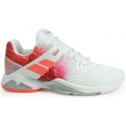 Babolat Women's Propulse Fury All Court Tennis Shoes (White/Pink) - 6-Month Warranty Shoes