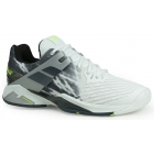 Babolat Men's Propulse Fury All Court Tennis Shoes (White/Black) - 6-Month Warranty Shoes