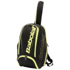 Babolat Pure Backpack (Black/Fluoro Yellow) - Tennis Backpacks