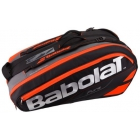 Babolat Pure Racquet Holder 12-Pack (Black/Fluoro Red) - Babolat Tennis Racquets, Shoes, Bags and More #TennisRunsInOurBlood