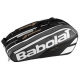 Babolat Pure Racquet Holder 9-Pack (Grey) - 9 and 12+ Racquet Tennis Bags