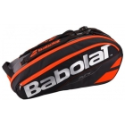 Babolat Pure Racquet Holder 6-Pack (Black/Fluoro Red) - Tennis Bag Types