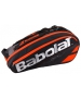 Babolat Pure Racquet Holder 6-Pack (Black/Fluoro Red) - Babolat Tennis Bags