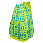 All For Color Lime Charmer Tennis Backpack - All for Color Tennis Bags