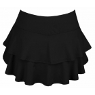 DUC Belle Women's Tennis Skirt (Black) - DUC Women's Team Tennis Skirts and Skorts