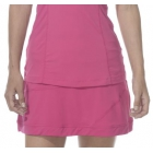 BloqUV Women's Medium Length Banded Skirt with Built In Shorties (Passion Pink) - Bloq-UV Women's Skirts & Skorts