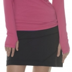 Bloq-UV Banded Skort (Black) - Bloq-UV Tennis Apparel