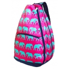 All For Color Turq Parade Tennis Backpack - All for Color Tennis Bags