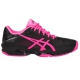 Asics Women's GEL-Solution Speed 3 Tennis Shoes (Black/Hot Pink/Silver) - Asics Tennis Shoes