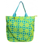 All For Color Lime Charmer Tennis Tote - Brands
