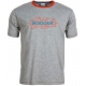 Babolat Men's Basic Training Tennis Tee (Grey) - Babolat Tennis Racquets, Shoes, Bags and More #TennisRunsInOurBlood