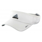 Adidas Men's Adizero II Visor (White/ Black/ Grey) - Adidas Tennis Caps & Visors