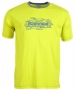 Babolat Men's Basic Training Tennis Tee (Yellow) - Babolat Tennis Apparel