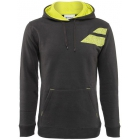 Babolat Men's Tennis Hoodie (Dark Grey) - Discount Tennis Apparel