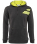 Babolat Men's Tennis Hoodie (Dark Grey) - Babolat Tennis Apparel