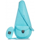 Court Couture Barcelona Tennis Bag (Turquoise) - Court Couture Barcelona Tennis Bag Slings