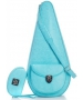 Court Couture Barcelona Tennis Bag (Turquoise) - Court Couture Barcelona Tennis Slings