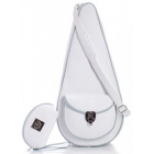Court Couture Barcelona Tennis Bag (White) - Women's Tennis Slings