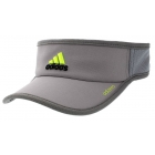 Adidas Men's Adizero II Visor (Grey/ Black/ Lime) - Adidas Caps & Visors Tennis Apparel