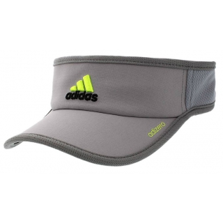 Adidas Men s Adizero II Visor (Grey  Black  Lime) - Do It Tennis 7e5609507f2c