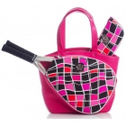Court Couture Cassanova Tennis Bag (Multi Pink) - Court Couture