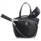 Court Couture Cassanova Tennis Bag (Epi Black) - Court Couture Tennis Bags