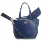 Court Couture Cassanova Tennis Bag (Epi Navy) - Court Couture Tennis Bags