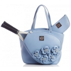 Court Couture Cassanova Tennis Bag (Blue Rose) - Court Couture