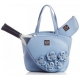 Court Couture Cassanova Tennis Bag (Blue Rose) - Tennis Bag Brands
