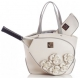 Court Couture Cassanova Tennis Bag (White Rose) - Tennis Bag Brands